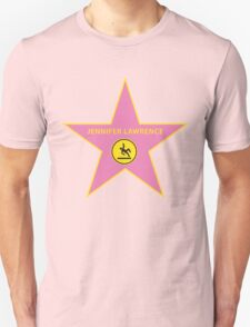 Jennifer Lawrence Falling - Hollywood Star T-Shirt