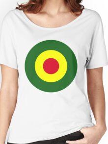 Rasta Mod Target Women's Relaxed Fit T-Shirt