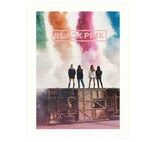 STAY BLACKPINK Art Print