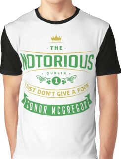 McGregor - I just don't give a fook. Graphic T-Shirt