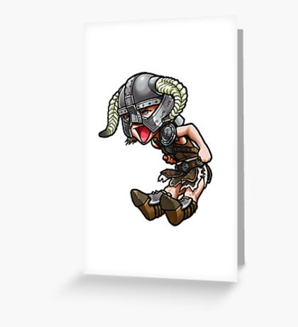 Chibi Dovakhin Greeting Card
