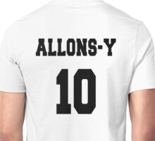 Allons-y - The 10th Doctor Unisex T-Shirt