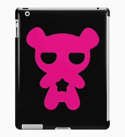 Magenta Lazy Bear (Cute and Pink) iPad Case/Skin