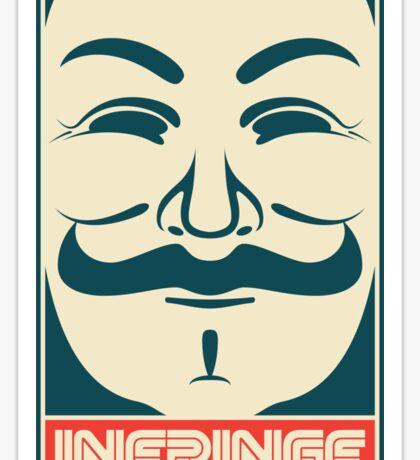 Mr. Anonymity Sticker