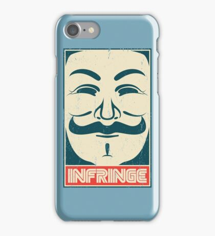 Mr. Anonymity iPhone Case/Skin