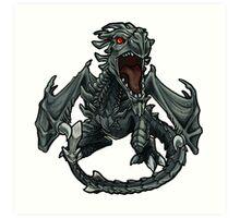 Chibi Dragon Art Print