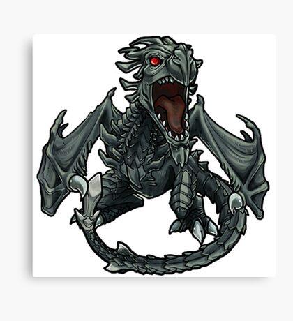 Chibi Dragon Canvas Print