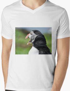 Puffin Mens V-Neck T-Shirt