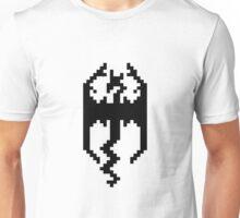 Pixel Skyrim Logo Unisex T-Shirt