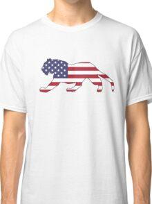 American Flag – Tiger Classic T-Shirt