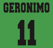 Geronimo - The 11th Doctor Baby Tee