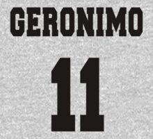 Geronimo - The 11th Doctor Kids Tee