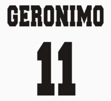 Geronimo - The 11th Doctor One Piece - Long Sleeve