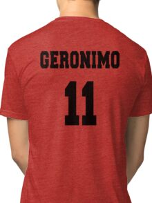 Geronimo - The 11th Doctor Tri-blend T-Shirt
