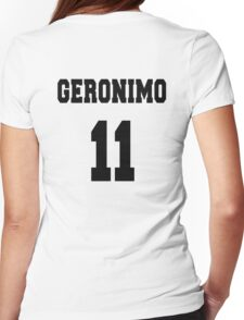 Geronimo - The 11th Doctor Womens Fitted T-Shirt