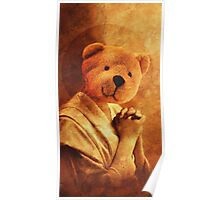 Saint Teddy Bear Poster