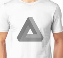 Impossible triangle illusion Unisex T-Shirt