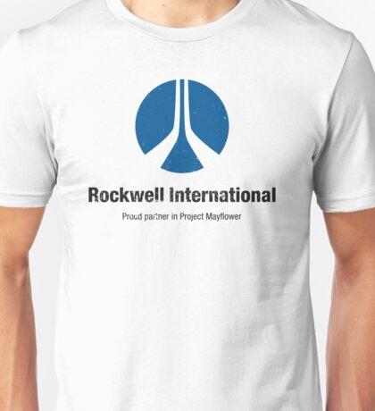 Rockwell International (Aged look) Unisex T-Shirt