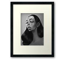 Mrs Drac Framed Print