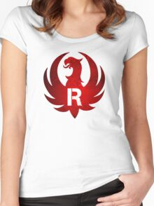 Ruger Vintage Grunge Women's Fitted Scoop T-Shirt