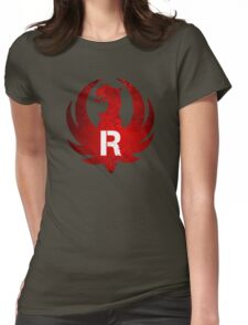 Ruger Vintage Grunge Womens Fitted T-Shirt