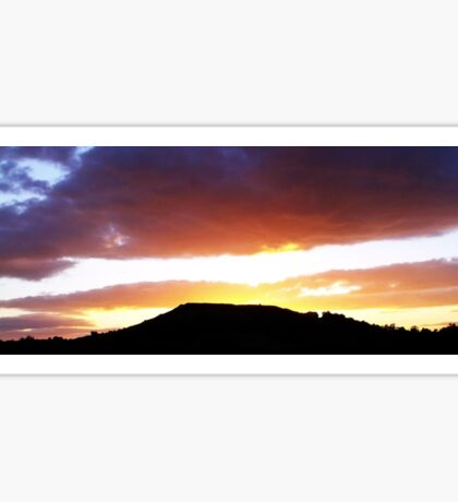 Brent Knoll at Sunset Sticker