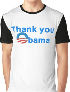 thank you president obama Graphic T-Shirt