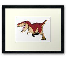 Tyrannosaurus - Paleobeasties 010a Framed Print