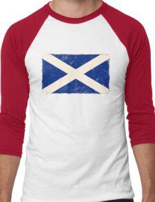 Scottish Flag Men's Baseball ¾ T-Shirt