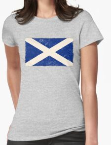 Scottish Flag Womens Fitted T-Shirt