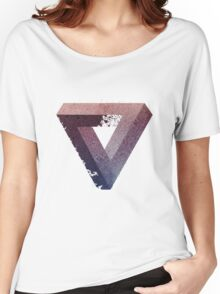 Galaxy triangle illusion Women's Relaxed Fit T-Shirt