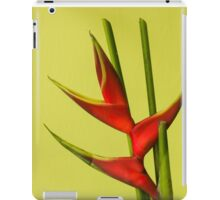 Amazing Helikonia Flower (Plant) - Object Photography iPad Case/Skin