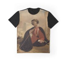 Charles Lenox Cumming-Bruce in Turkish Dress by Andrew Geddes,  Graphic T-Shirt