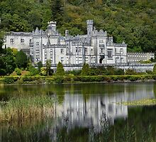 Kylemore Abbey. by Terence Davis