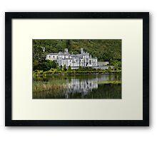 Kylemore Abbey. Framed Print