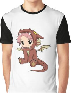 Natsu Dragneel chibi Graphic T-Shirt