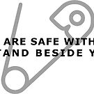 Safetypin - You are safe with me by Belle333Black