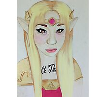 Princess Zelda Photographic Print