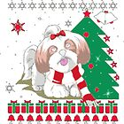 Christmas Ugly Sweater - SHIH TZU DOG by sontranthanh