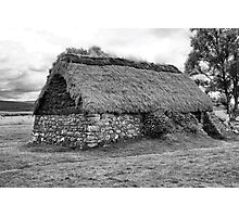 Culloden Cottage Photographic Print