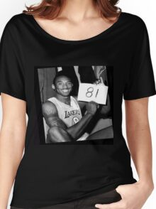 Kobe Bryant - 81 points Women's Relaxed Fit T-Shirt