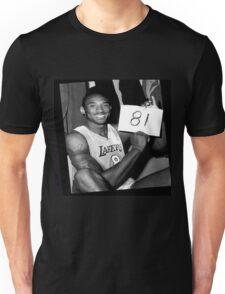 Kobe Bryant - 81 points Unisex T-Shirt