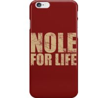 Nole for Life iPhone Case/Skin