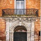 Decorative door in Nardo, Italy by Robert Dettman