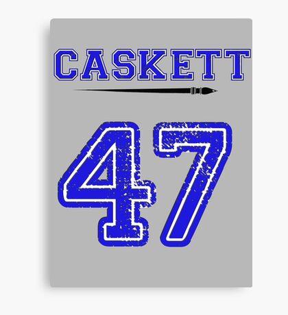 Caskett 47 Jersey Canvas Print