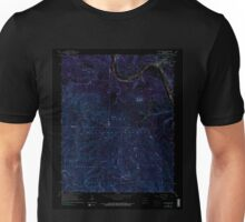 USGS TOPO Map Arkansas AR Calico Rock 258110 1964 24000 Inverted Unisex T-Shirt
