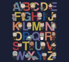 Through the Wormhole Alphabet Kids Tee