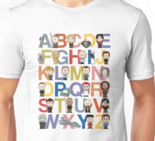 Through the Wormhole Alphabet Unisex T-Shirt