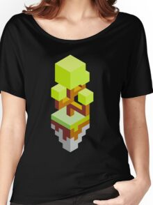 Isometric abstract color tree Women's Relaxed Fit T-Shirt