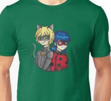 Miraculous Ladybug Chat Noir Perfect Team Unisex T-Shirt